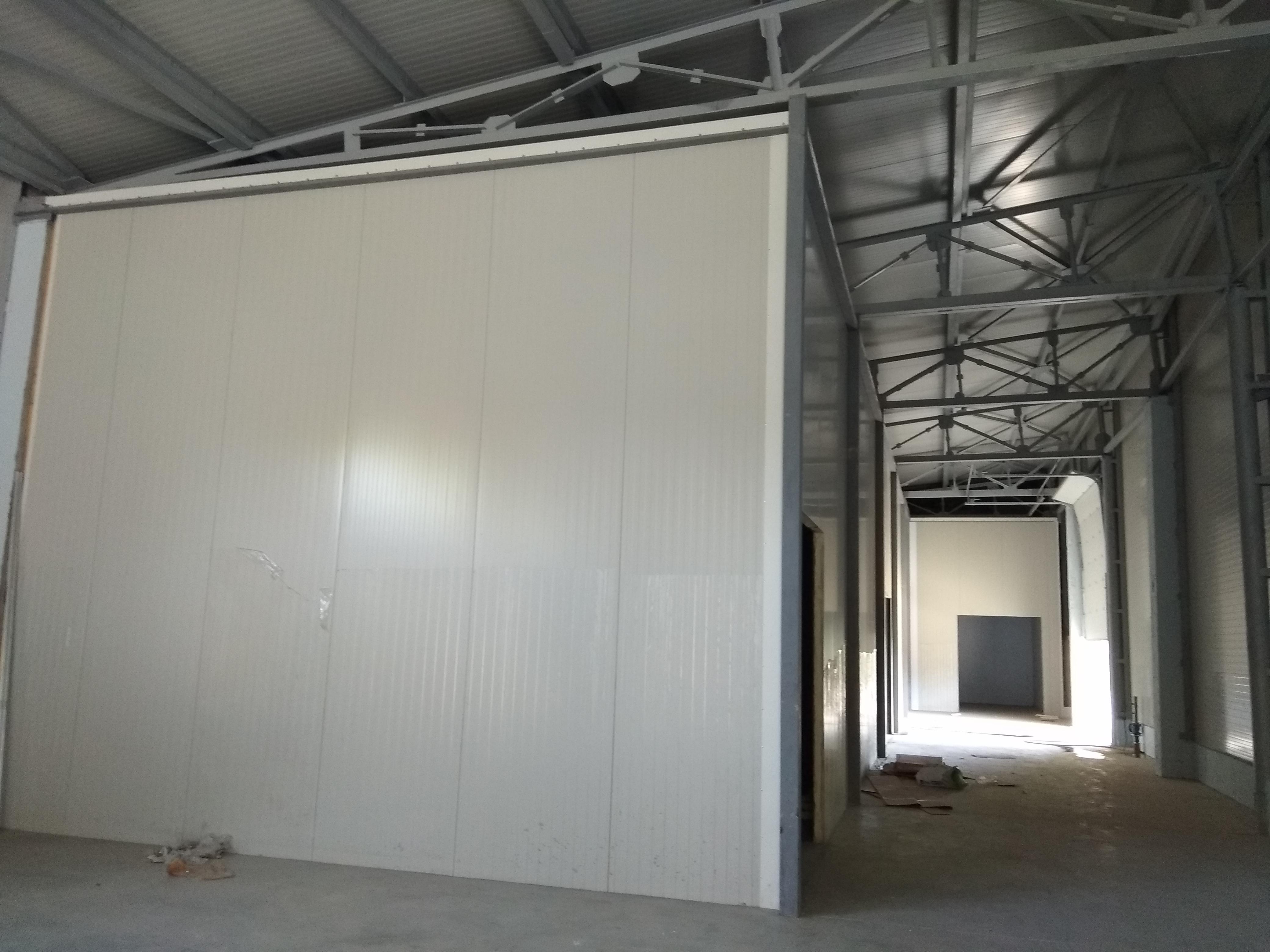 Contrucția halei frigorifice