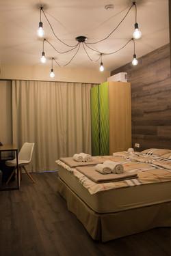 Double Bathroom in Wine Hotel Chisinau