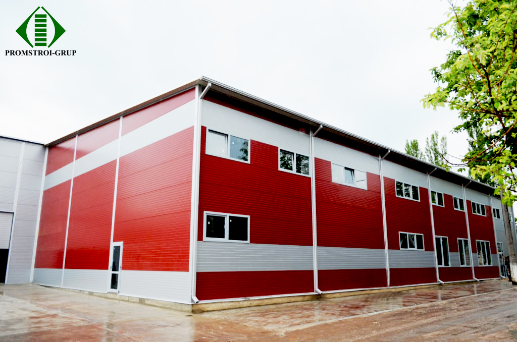 Складской комплекс компании Oriflame. Индустриальный парк Tracom. Проект, Генера