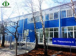 Офис Skynet, Кишинев, ул. Транснистрия 6. Проект и строительство Promstroi-Grup.
