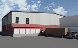 Проект склада в Кишиневе, проектирование промышленного объекта в Молдове. Проектная фирма