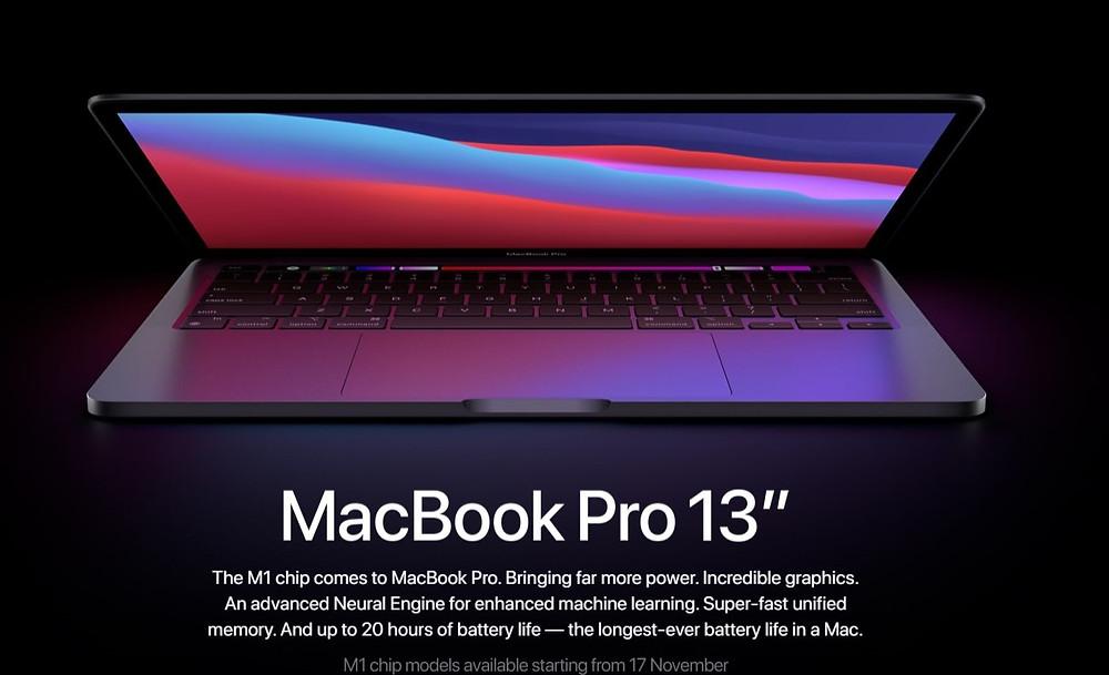 "Apple Macbook 13"" laptop"