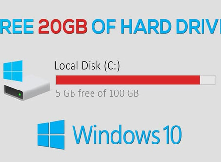 3 Ways To Clear Hard Drive Space On Windows