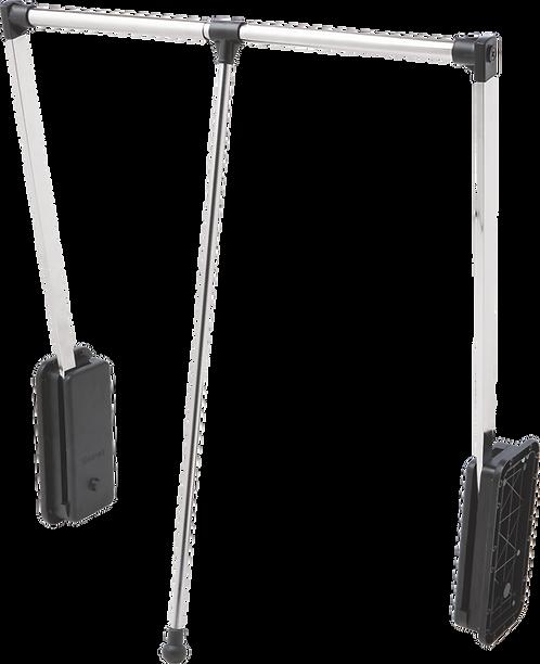 Cabideiro Extensível Cromado, 60 a 83cm, 12Kg - Linha Klean 1581/CR