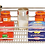 Thumbnail: Gaveta Extensível com Base Aramada Cromado Série 6110