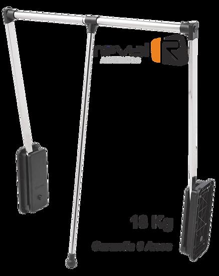 Cabideiro Extensível Articulado, 60 a 83cm, 18Kg Reval 1081