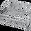 Thumbnail: Gavetão Extensível com Base Aramada Cromado Série 6150