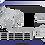 Thumbnail: Gaveta Extensível sem Base Aramada Cromado 6110/ID 6100/ID 6150/ID