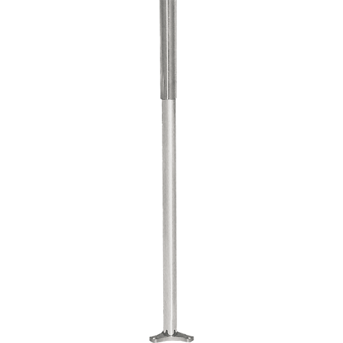 Tubo Redondo ajustável para Cesto Giratório Cromado 1075/5 - 1075/7