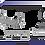 Thumbnail: Gaveta Extensível com Abertura Central Cromado 6165/ID