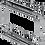 Thumbnail: Porta Latas Duplo, Fixação Lateral Cromado 1807/CD
