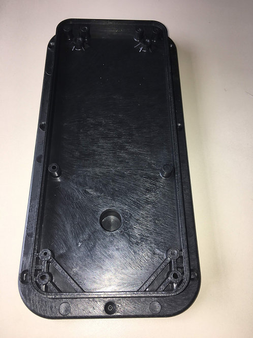 Base Plástica Preta para Cabideiro Extensível Reval / Klean