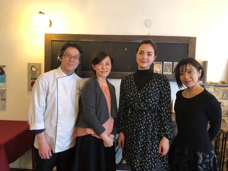 ミュージカル女優 美衣優・アレキサンドラさんのランチタイムコンサート