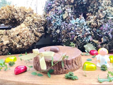 山梨県 バレンタイン 手作りケーキ チョコレートチーズケーキ