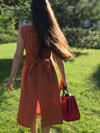 La robe Aurore dos