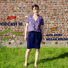 Podcast 10 et la jupe Axel
