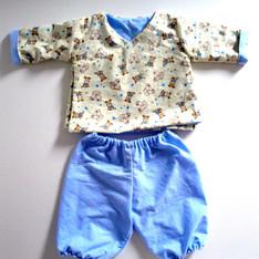 Ensemble kimono pour bébé
