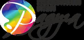 """Художественная школа - студия """"Радуга"""" - логотип"""