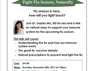 Tea with the ND: Fight Flu Season, Naturally
