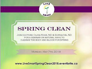 Live Smart: Spring Clean 2018