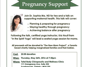 Tea with ND: Pregnancy Support