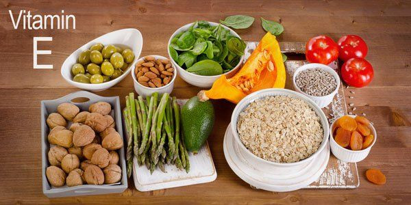 Alimentos naturais antioxidantes ricos em Vitamina E - Auxiliam no combate dos radicais livres