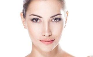 rosto de mulher pele perfeita - fotoreju