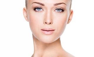 rosto de mulher com contorno facial perfeito - carboxiterapia papada