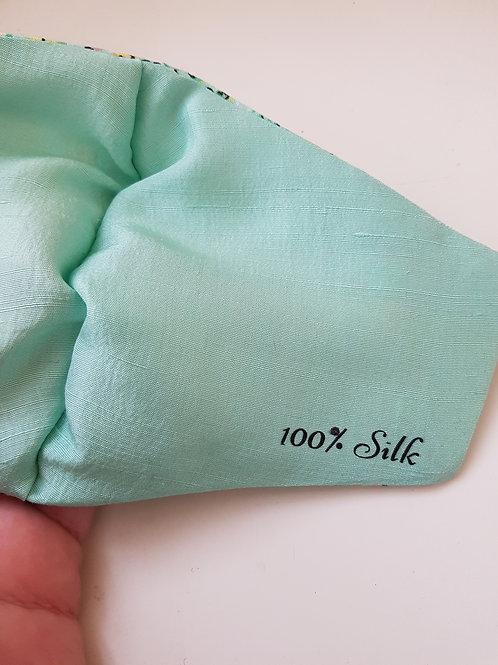 Silk Lined Custom Face Mask