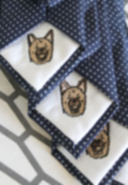Custom Dog Ties by handsome and lace toronto