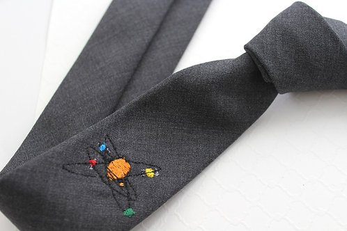 Solar System Neck Tie