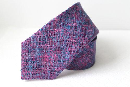 Vibrant Violets Wool Necktie