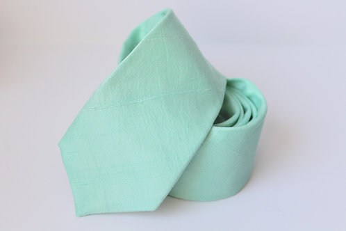 Mint Matte Soft Silk Neck Tie