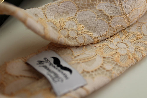 French Floral Lace Neck Tie - Very Limited Stock