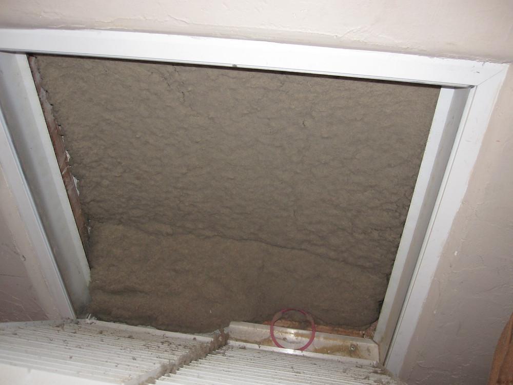 Very dirty HVAC filter
