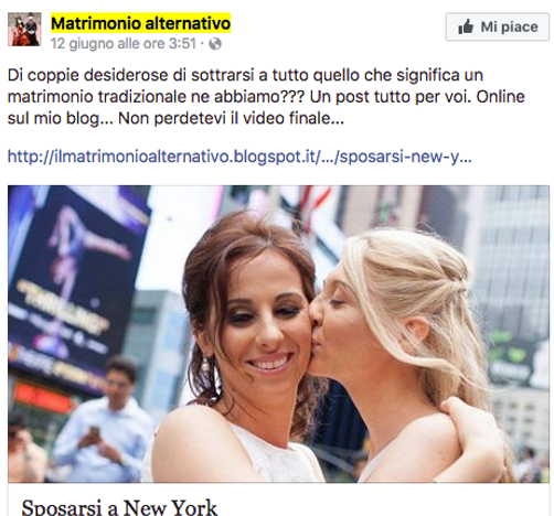 Matrimonio Alternativo - Sposarsi a New