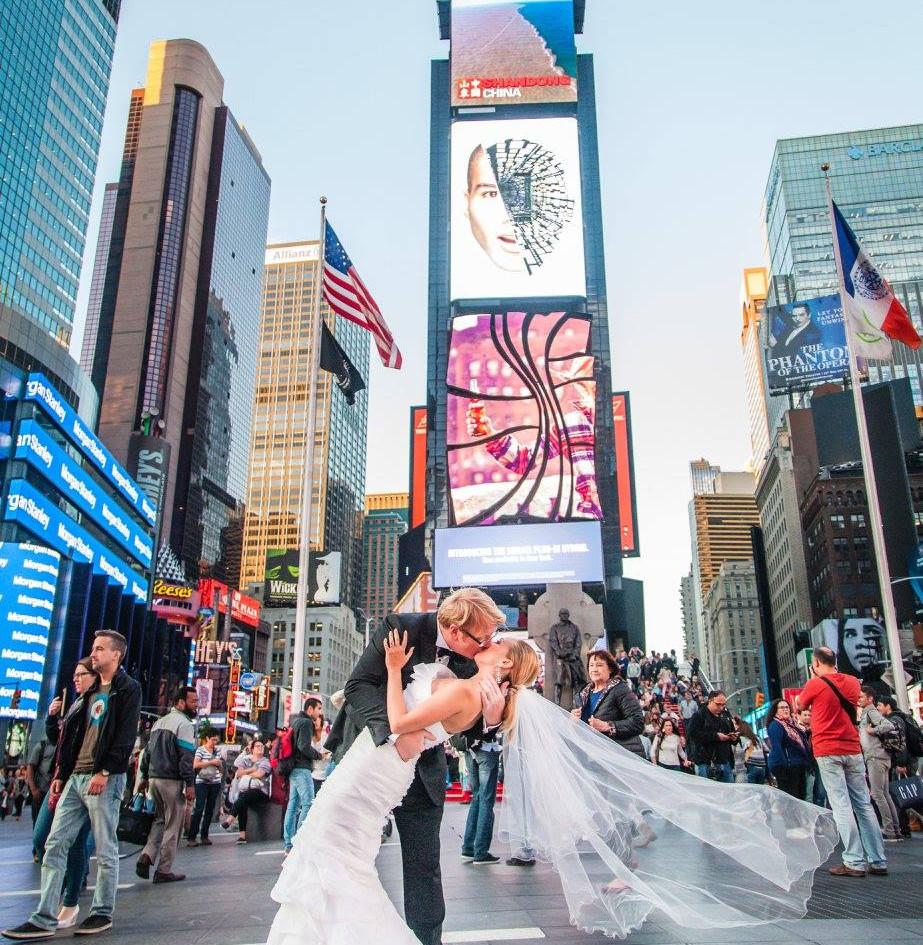 Matrimonio a Times Square