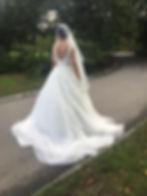 Sposarsi a New York Abito bianco sposa