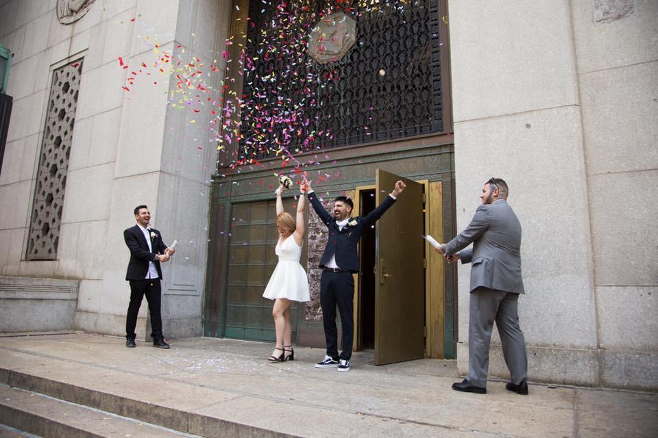Matrimonio al Comune di New York