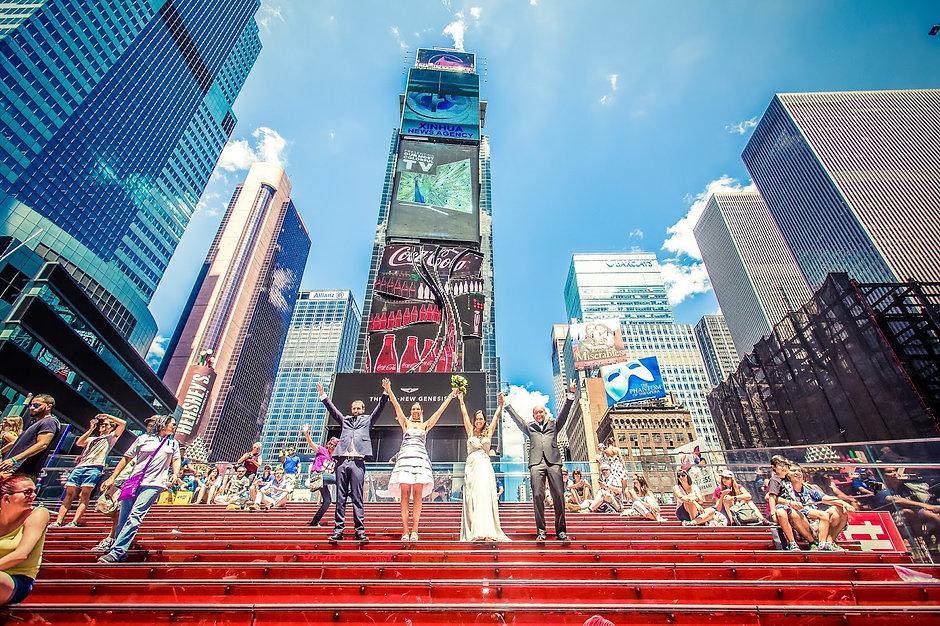 Sposarsi a New York - Sposi a Times Squa