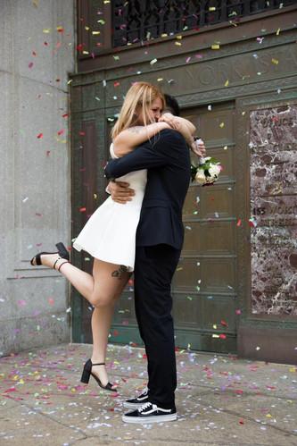 Matrimonio al City Clerk di New York