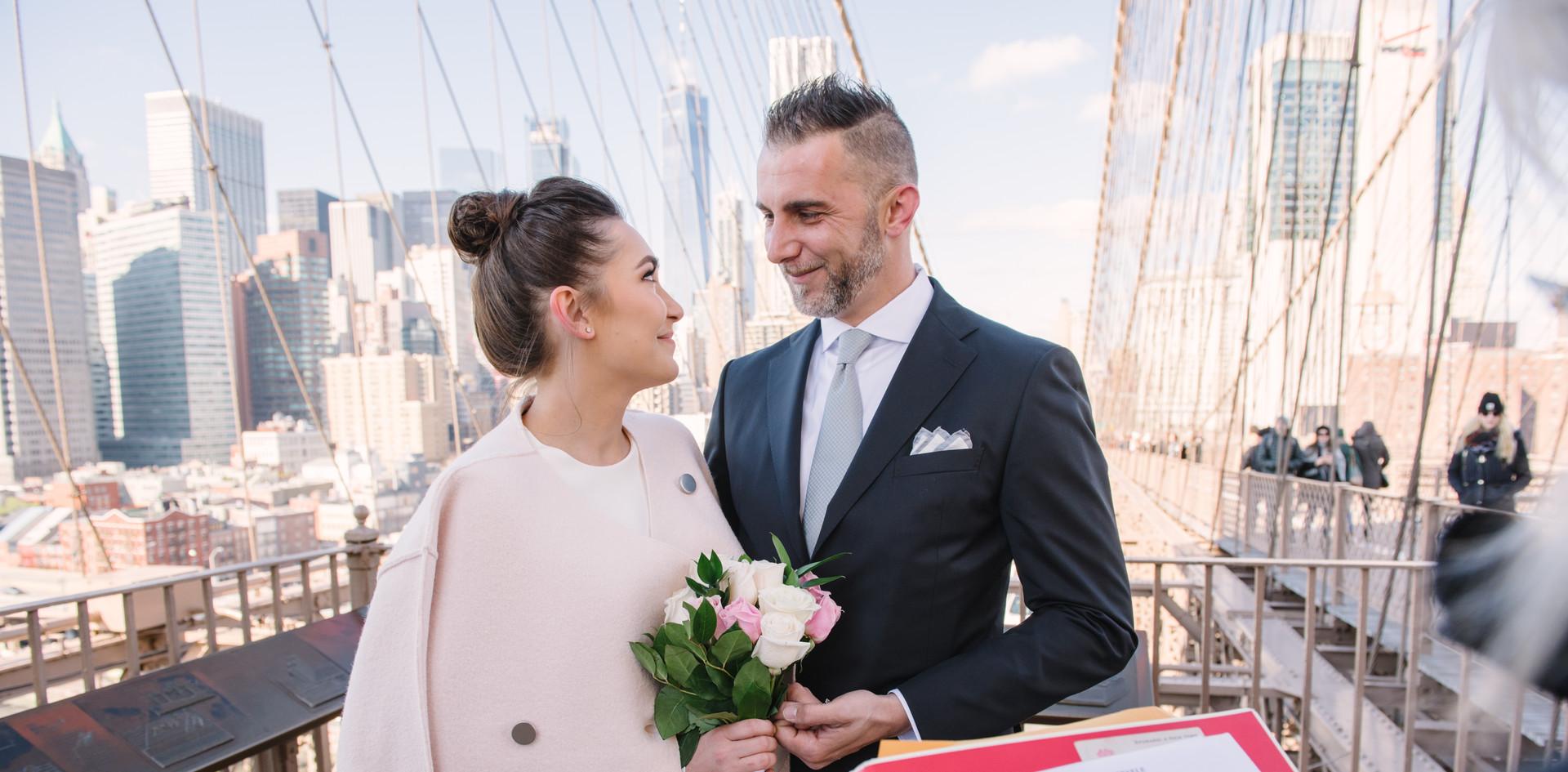Matrimonio sul Ponte di Brooklyn