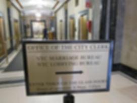 City Clerk, City Hall, Matrimonio Civile a New York