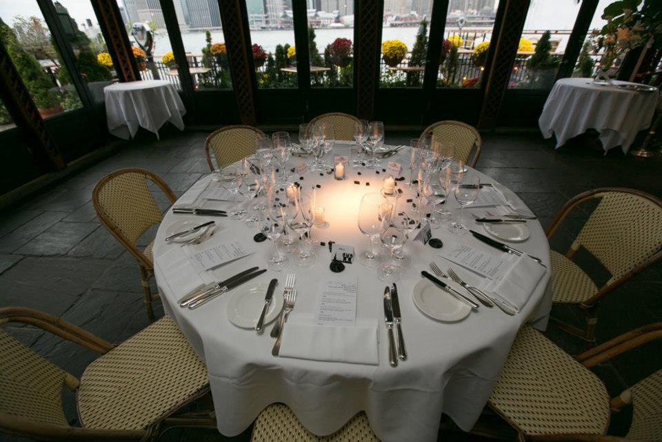 La cena di nozze al River Cafe' di Brooklyn