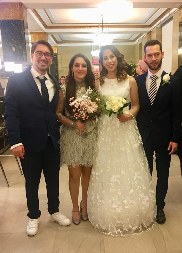 Matrimonio di italiani a New York