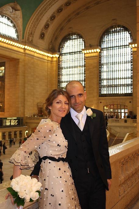 Sposarsi a New York Sposi a Grand Central Station