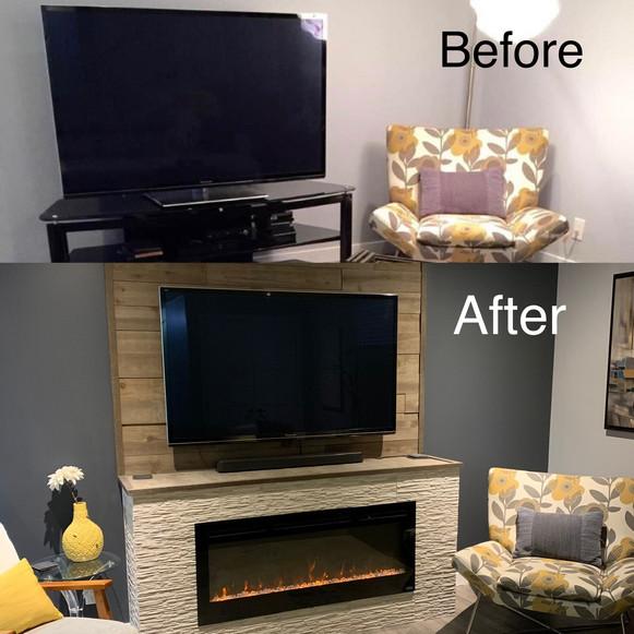 Fireplace / Wall Mount