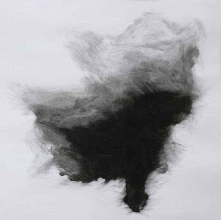 크기변환_Untitled (의자), 100X100, 목탄, 2009.jpg