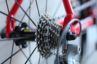 pov of a bicycle gear box