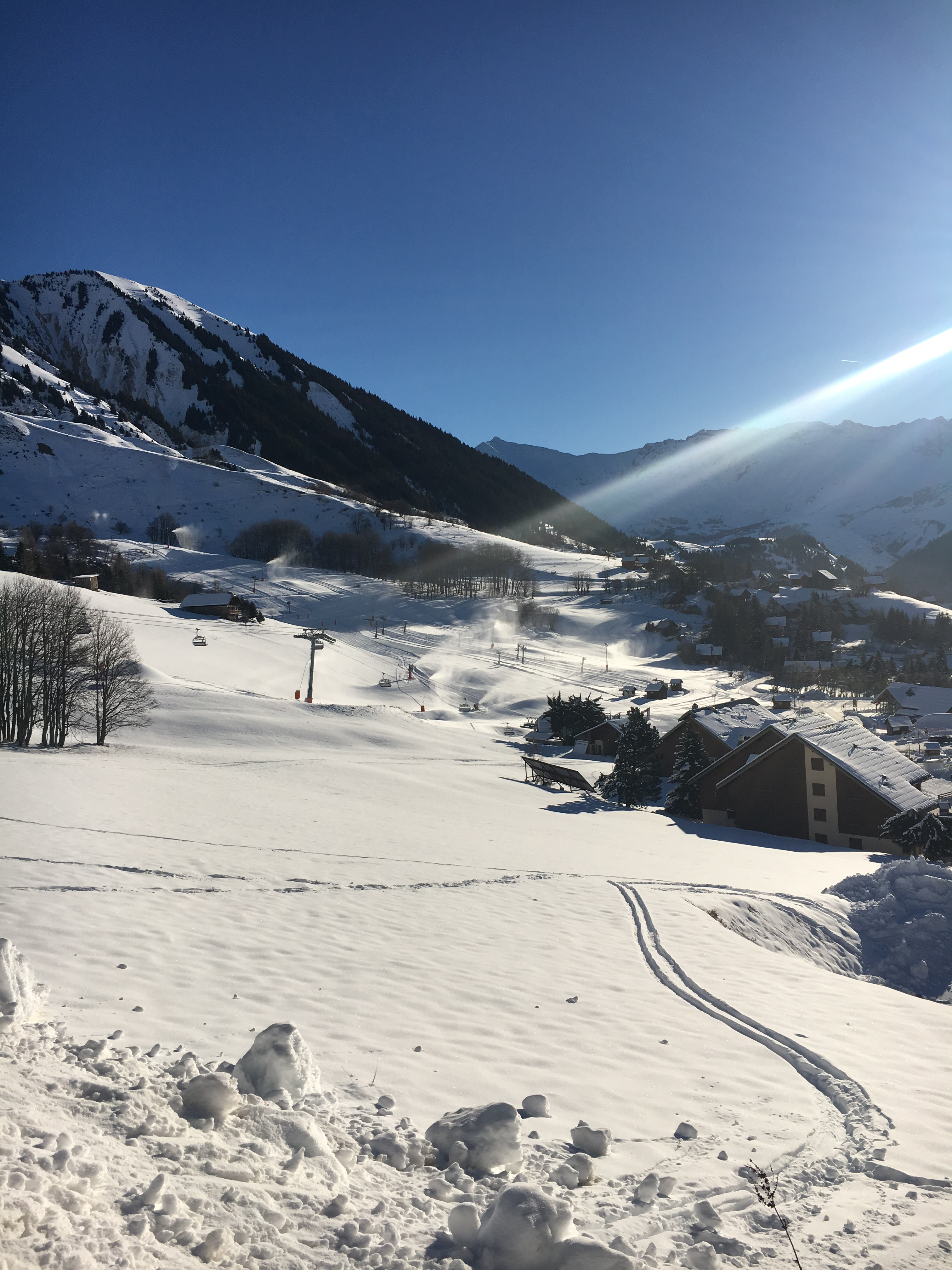 Prêt pour le ski
